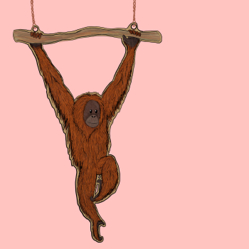 Preorder Orangutan Necklace