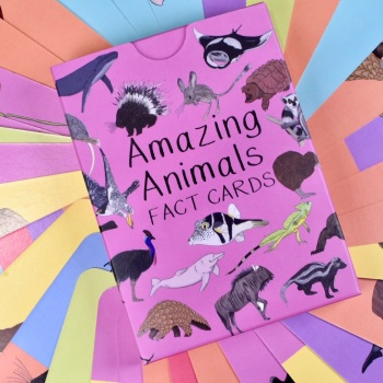 Amazing Animal Fact Cards Set 2