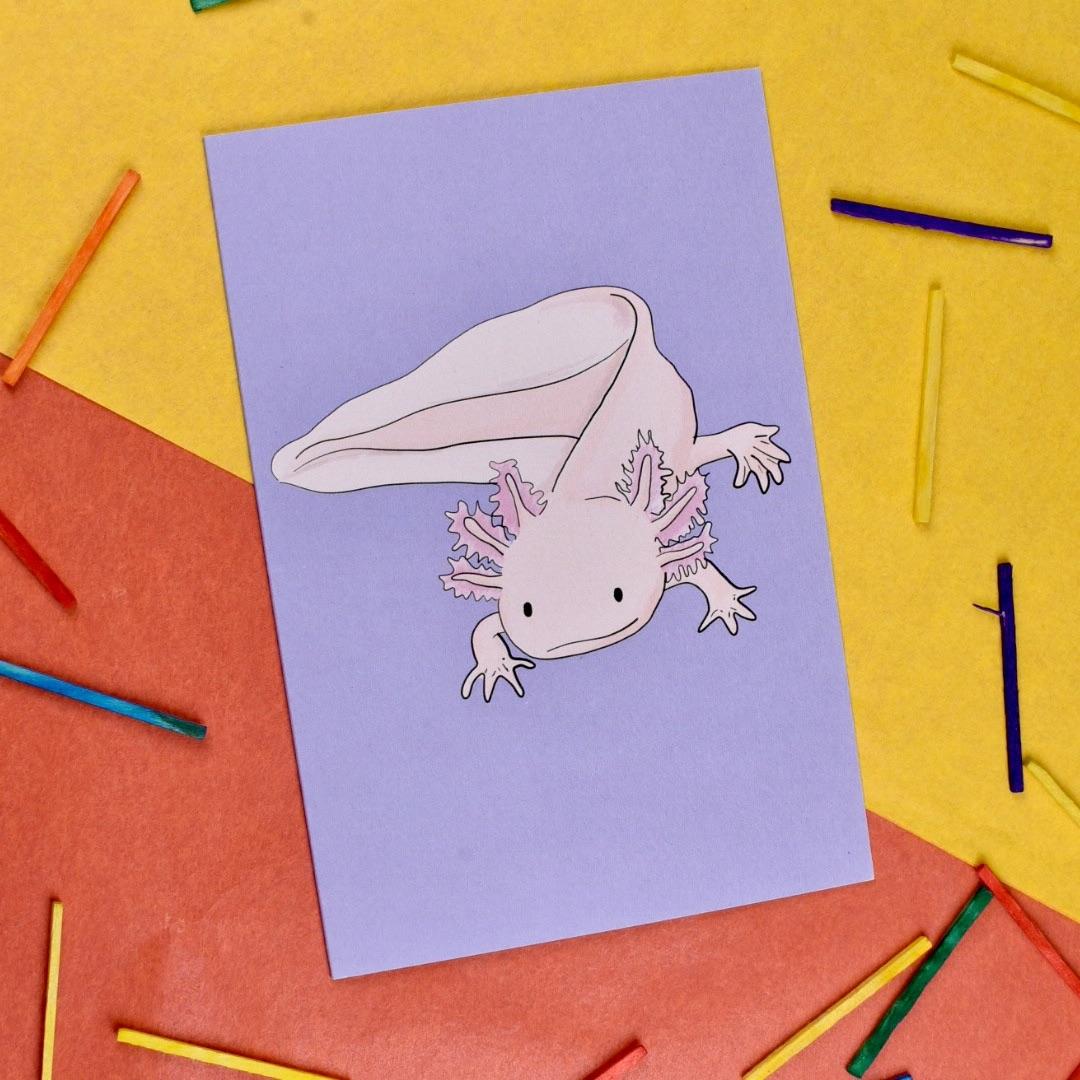 Axolotl Card