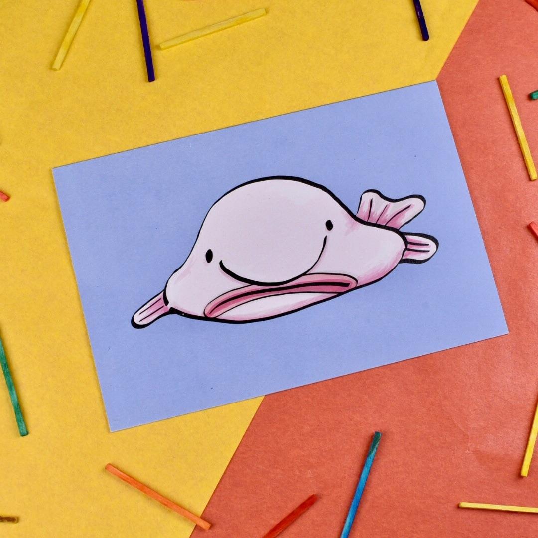 Blob Fish Card