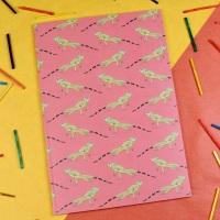 Basilisk Lizard A5 Notebook