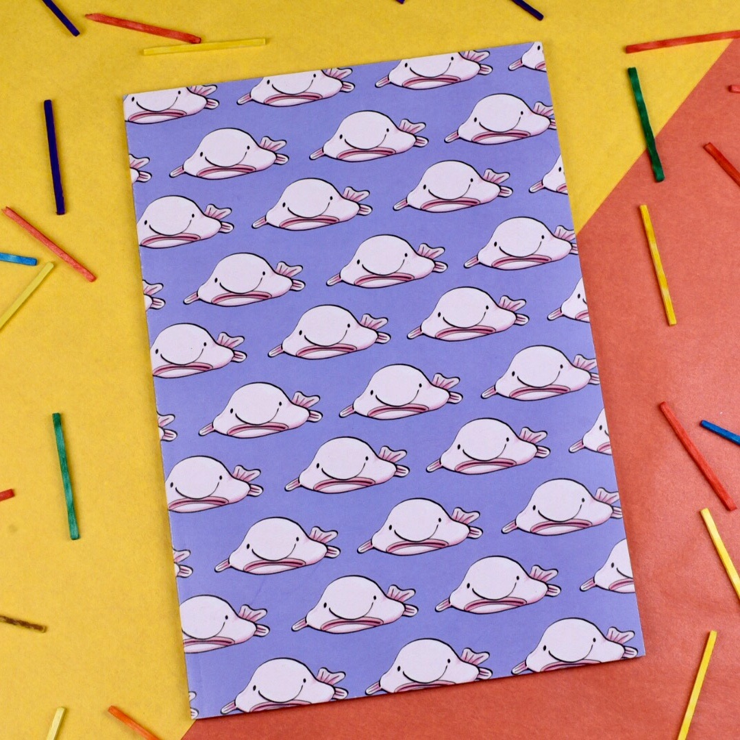 Blob Fish A5 Notebook