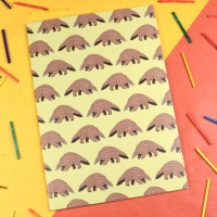 Pangolin A5 Notebook