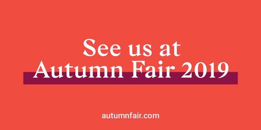 Come and see us at Autumn Fair