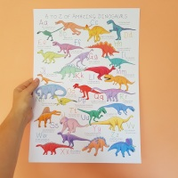 Alphabet of Amazing Dinosaurs