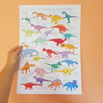 Alphabet of Amazing Dinosaurs