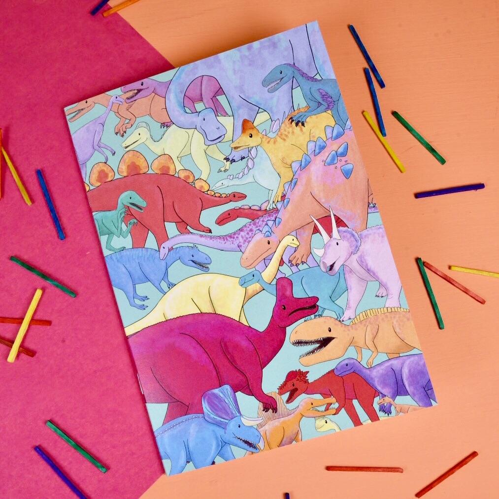 Dinosaur Notebook - Oviraptor