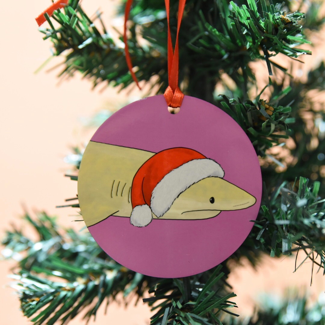 Lemon Shark Christmas Decoration