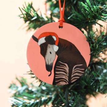 Okapi Christmas Decoration