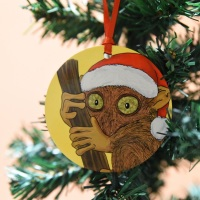 Tarsier Christmas Decoration