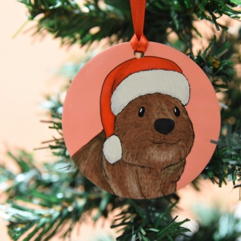 Quokka Christmas Decoration