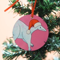 Parasauralophus Christmas Decoration