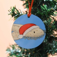 Tasselled Wobbegong Christmas Decoration