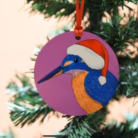 Kingfisher Christmas Decoration