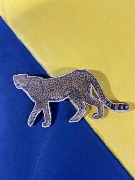 Cheetah Brooch