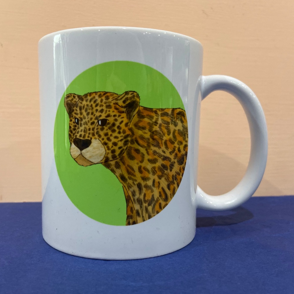 Amur Leopard Mug