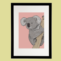 Koala Print - Amazing Animals of Australia Collection