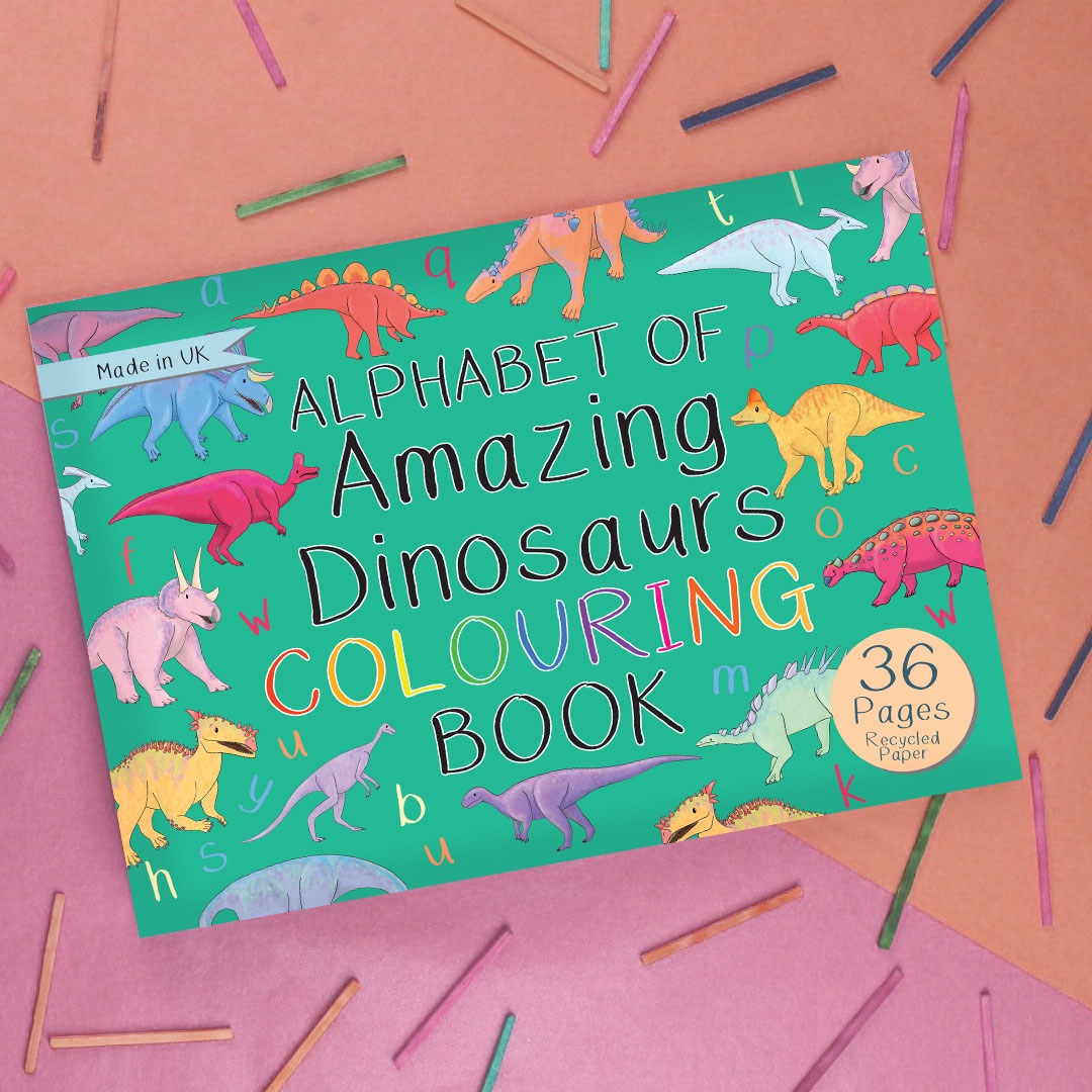 Amazing Dinosaurs Colouring Book