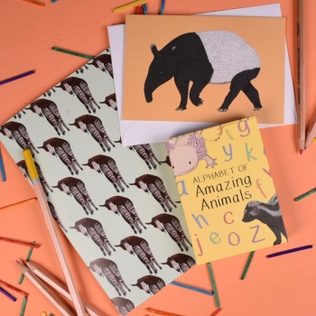 Alphabet of Amazing Animals Gift Set