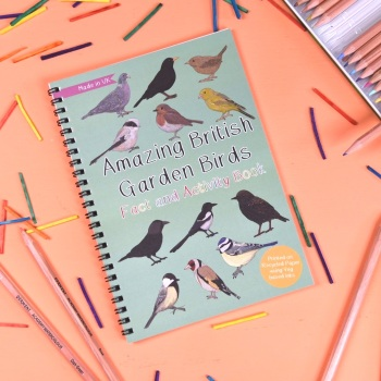 Amazing British Garden Birds Fact and Activity Book