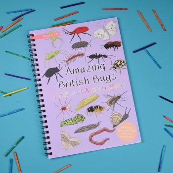 Preorder - Amazing British Bugs Fact and Activity Book