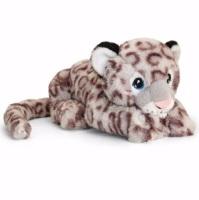 25cm Eco Snow Leopard