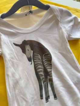 12-18m babygrow/vest okapi