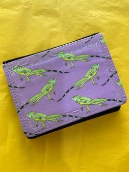 Card Wallet - Basilisk Lizard - Wrinkled