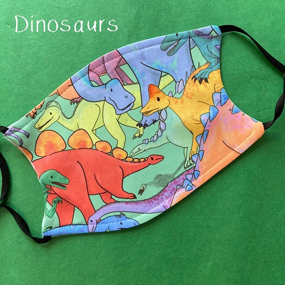 dinosaurs mask