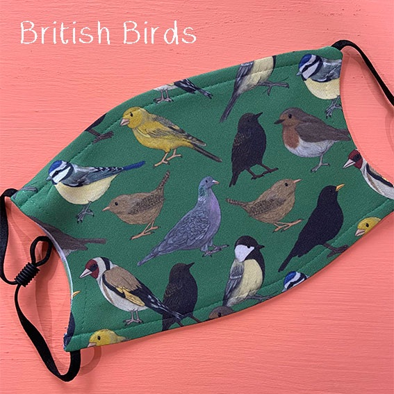 british birds mask
