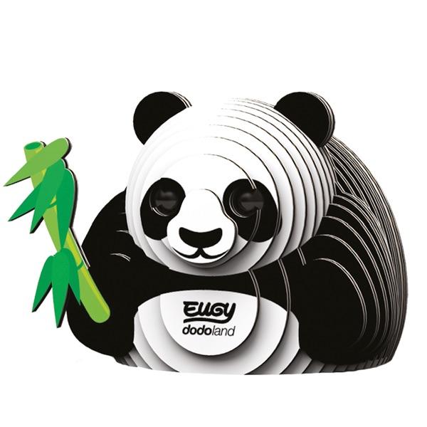 Giant Panda 3d Model Kit