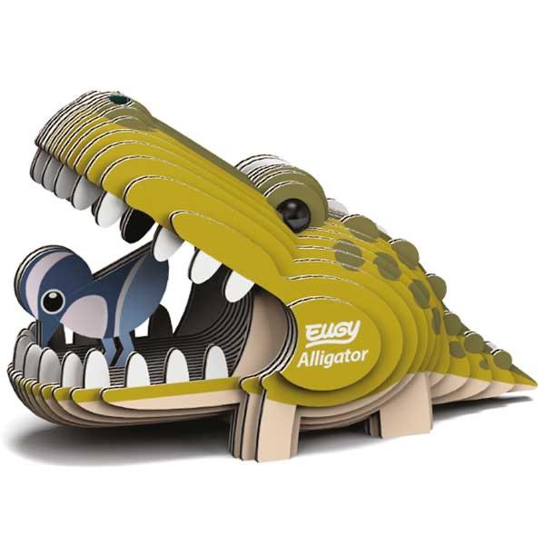 Alligator 3d Model Kit