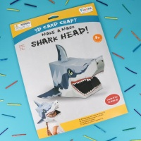 Shark 3D Card Mask