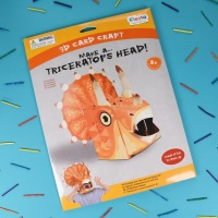 Triceratops 3D Card Mask