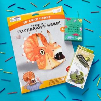 Triceratops Gift Set