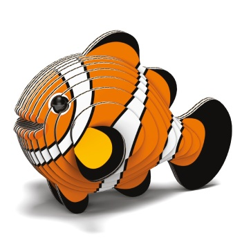 Clownfish 3D Model Kit