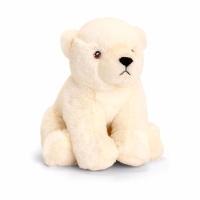 18cm Eco Polar Bear