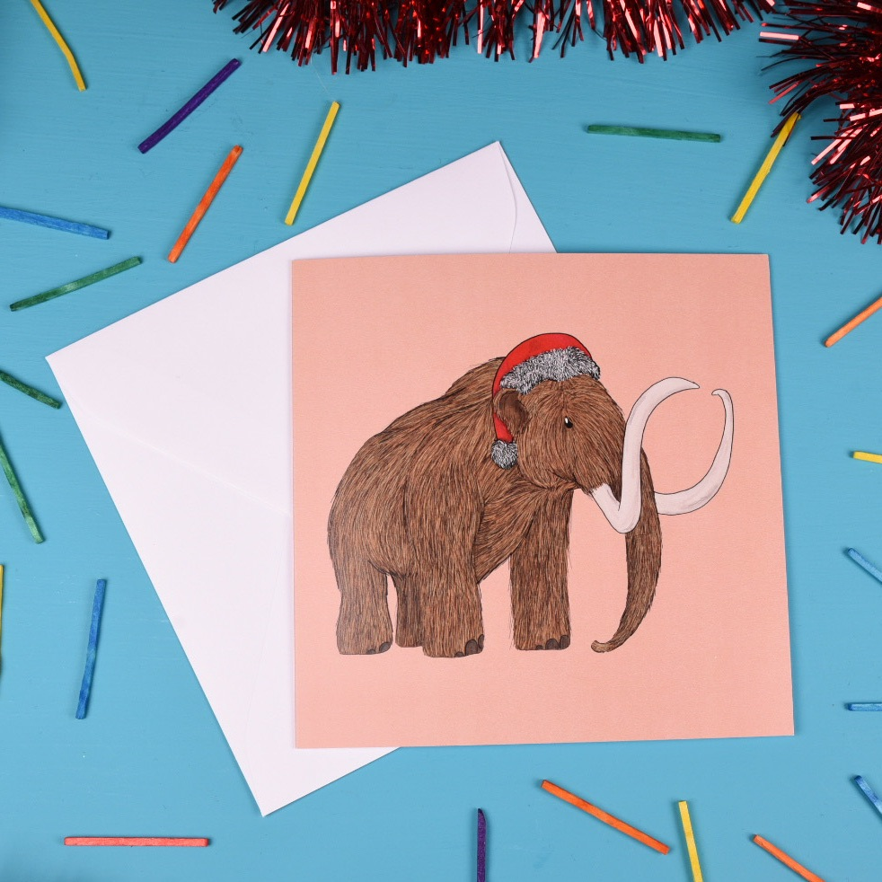 Mammoth Christmas Card
