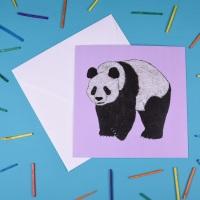 Panda Greetings Card