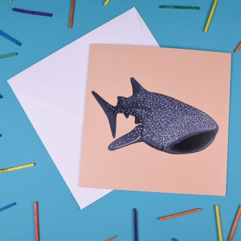 Whale Shark Greetings Card