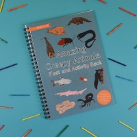 Amazing Creepy Animals Fact and Activity Book