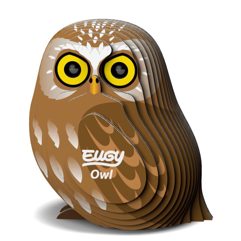 Owl 3d Model Kit