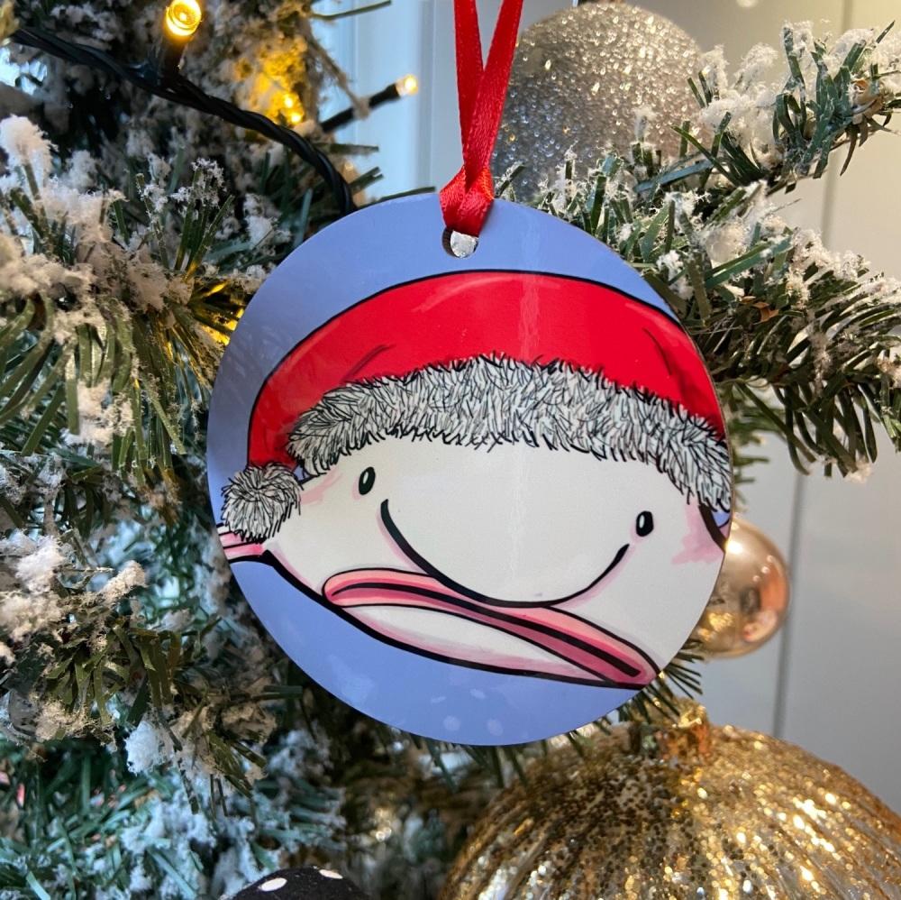 Blobfish Christmas Decoration