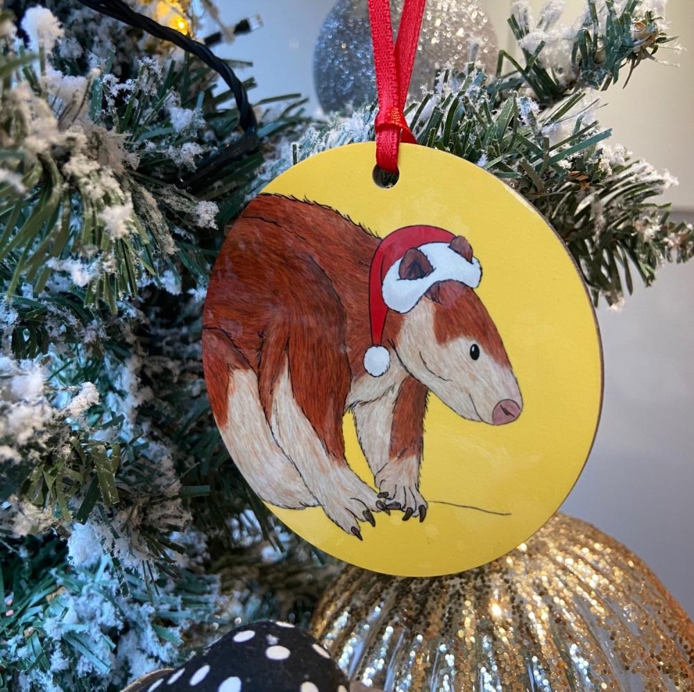 Tree Kangaroo Christmas Decoration