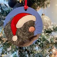 Prehensile Tailed Porcupine Christmas Decoration