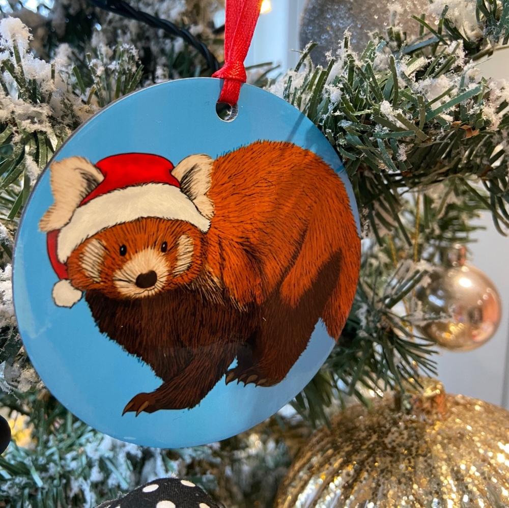 Misprint - Red Panda Christmas Decoration
