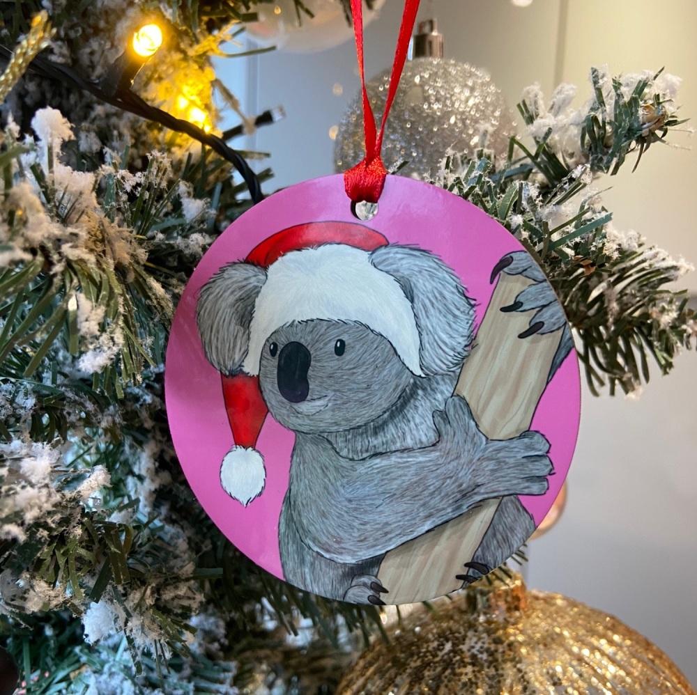 Misprint - Koala Christmas Decoration