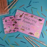 Amazing Animal Fact Cards Set 2 and Colouring Book