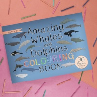 Amazing Whales and Dolphins Colouring Book