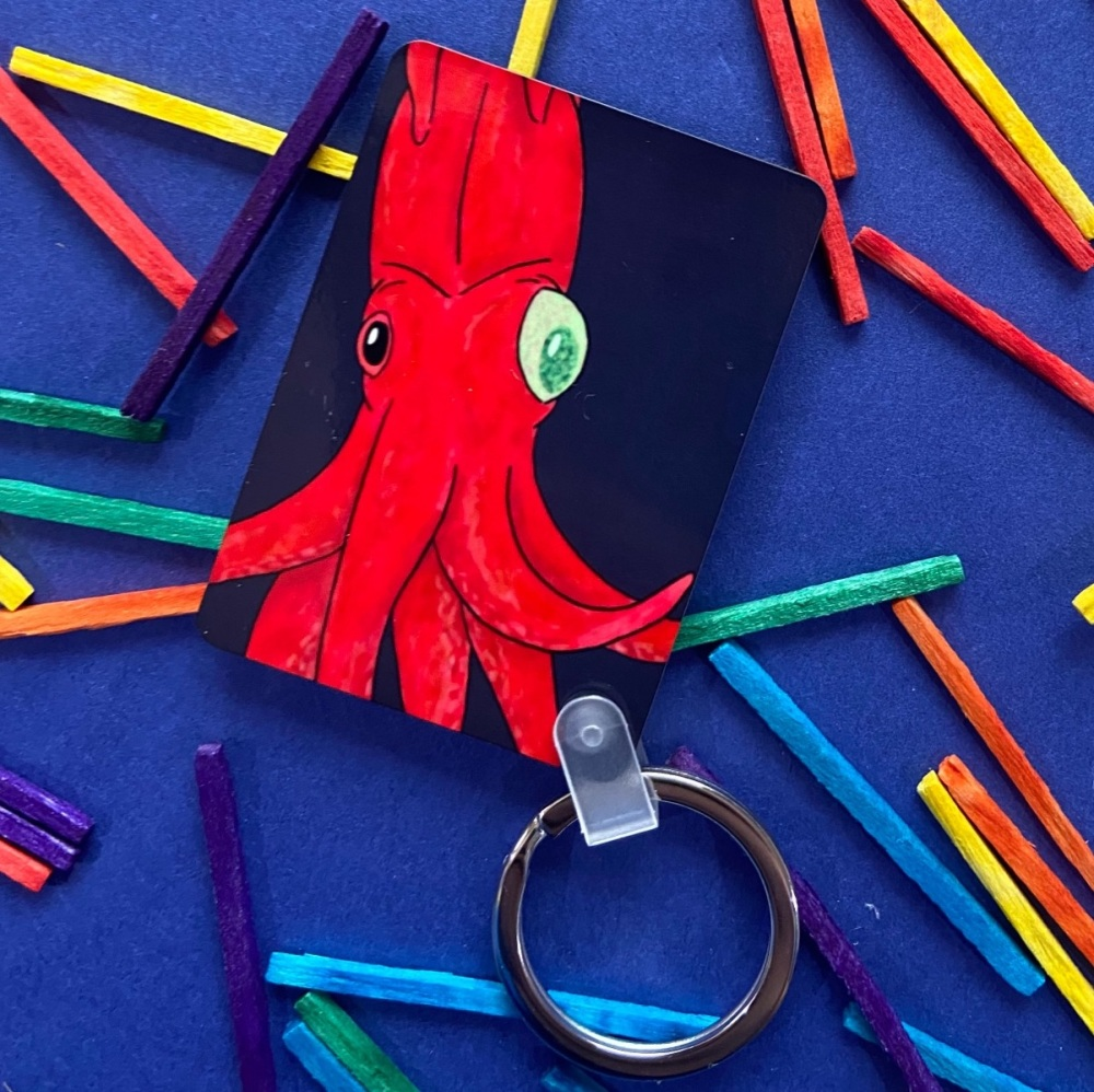 Cockeyed Squid Keyring